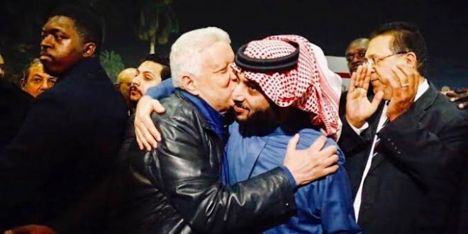 تركي الشيخ و مرتضي منصور