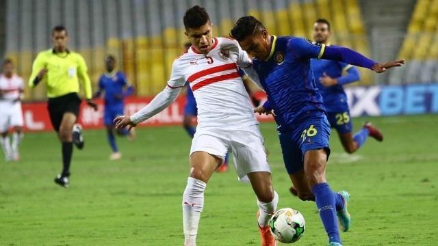محمد عبد الغني لاعب الزمالك